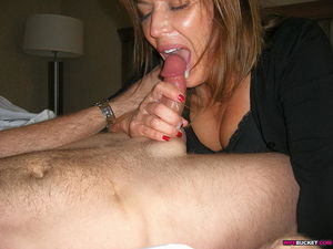 awesome wife blowjob