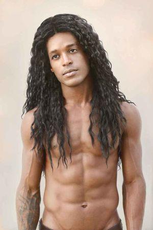 male pornstars with long hair