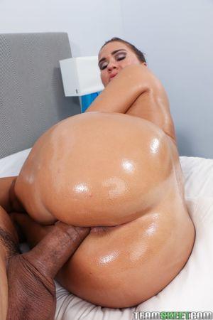 big oiled ass