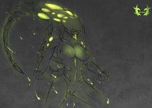 sexy alien girl