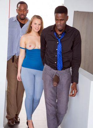 sensual bbc blowjob