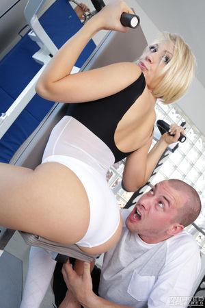 big tit blonde mom