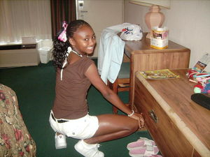 black teen striptease