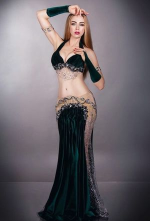 sexy belly dancer costume