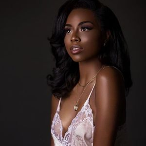 dark skin beauty