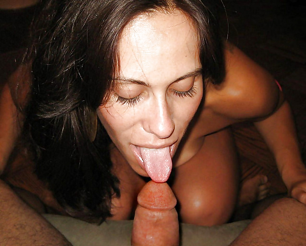 Drunk cougar blowjob