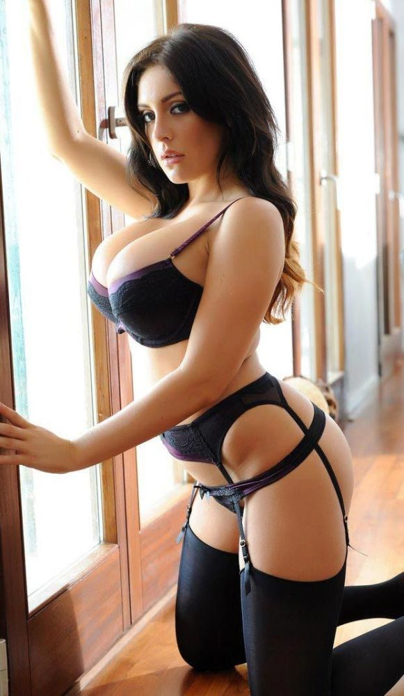 New photos of karla james and her big tits decked out in sexy lingerie