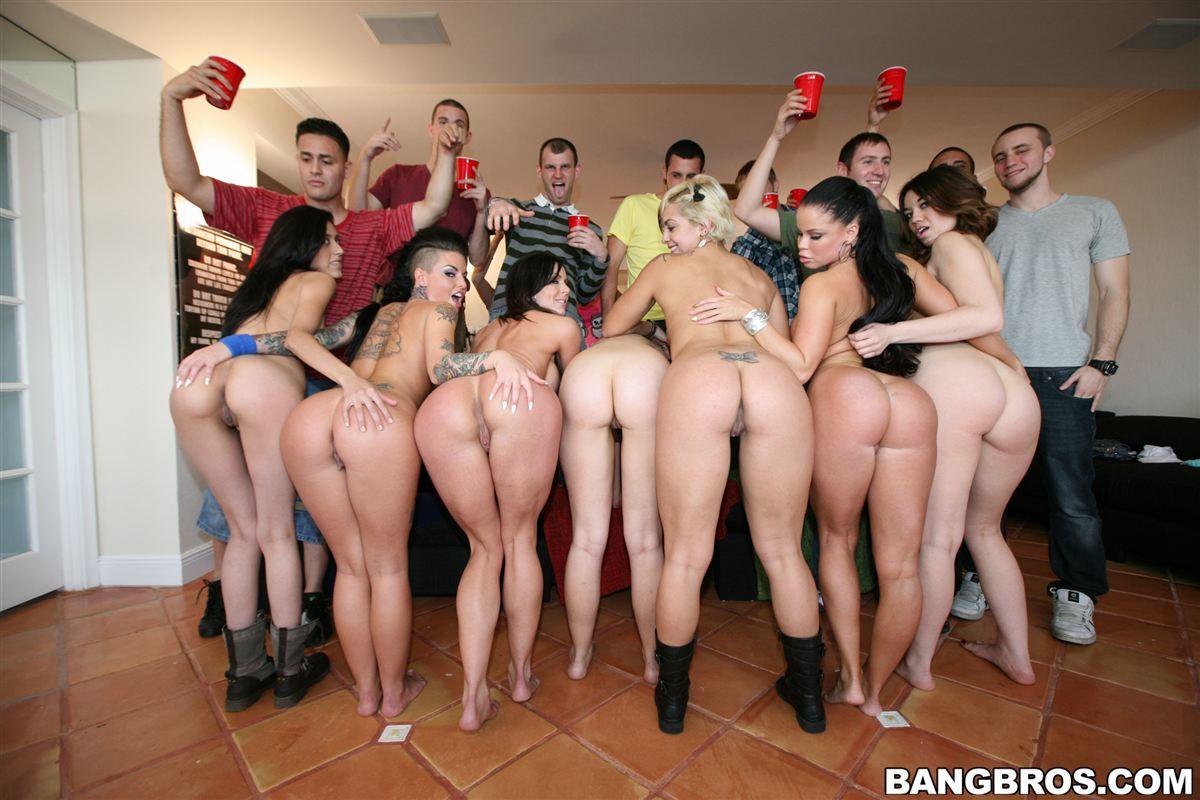 Asian college amateur orgy