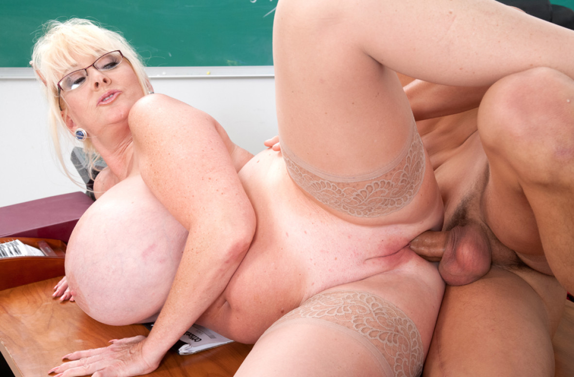 Sandy Is A Super Horny, Mature Blonde With Big Tits, Who Likes To Have Wild Sex